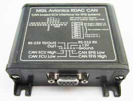 MGL Avionics RDAC-CAN modules