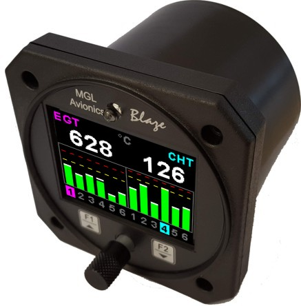 MGL Avionics Blaze TC-6 twelve channel display