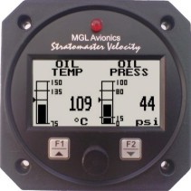 MGL Avionics Velocity TP-2 temperature and pressure  - 80mm