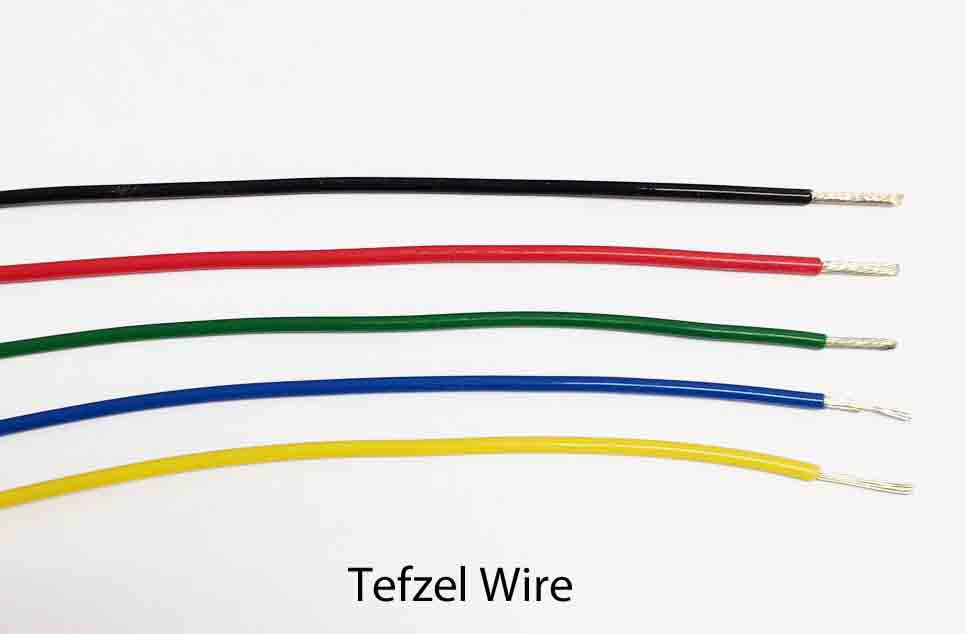 16 AWG Coloured Tefzel Aviation Wire MIL-W-22759/16