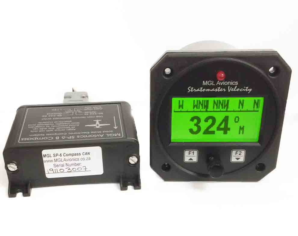 MGL SP-6 Compass module and FREE AV2 display.