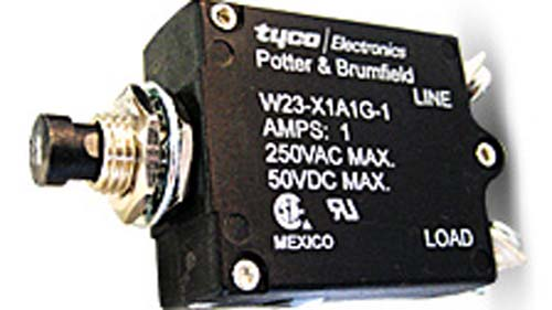 Potter and Brumfield Tyco W23 switch / circuit breakers